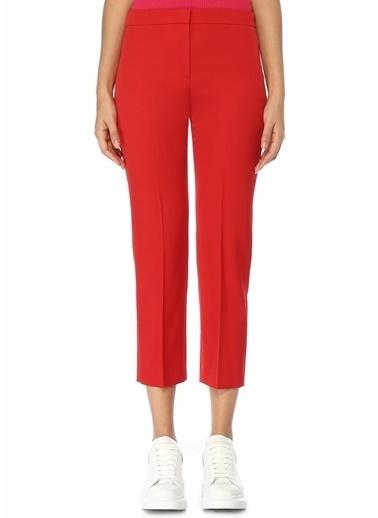 Alexander McQueen Pantolon Kırmızı